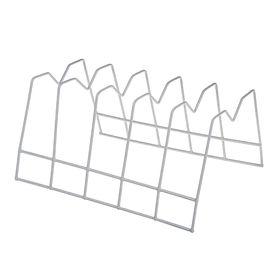 Подставка для крышек на 5 предметов, цвет белый
