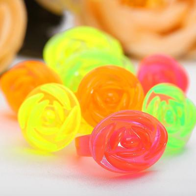 Ring baby Roses, MIX color, form MIX