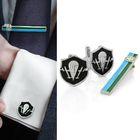 """Набор мужской """"ВДВ"""", запонки + зажим для галстука"""