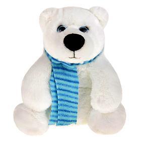 Мягкая игрушка «Медведь белый Галант», 20 см