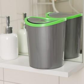 Контейнер для мусора настольный, 1,6 л, цвет МИКС