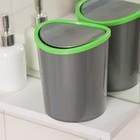 Контейнер для мусора настольный 1,6 л, цвет МИКС - фото 1716941