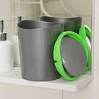 Контейнер для мусора настольный 1,6 л, цвет МИКС - фото 1716942