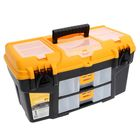 Ящик для инструментов УРАН 21' (с двумя консолями и секциями)
