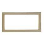 Окно глухое, 30х60 см, двойное стекло