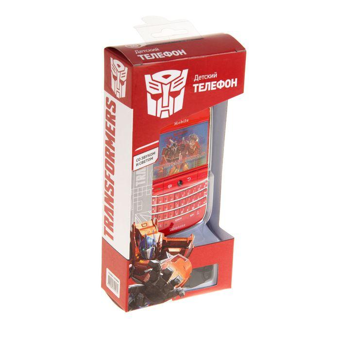 """Телефон """"Transformers"""" на батарейках, в коробке"""