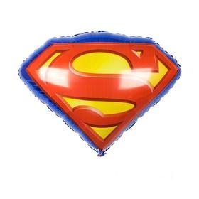 """Шар фольгированный 26"""" «Супермен», эмблема"""