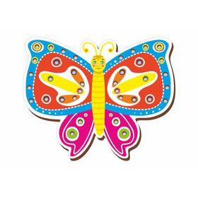 Шнуровка цветная 'Бабочка' Ош