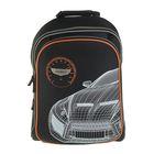 Рюкзак каркасный Proff 36*26*16 мм для мальчика, Carbon, чёрный FF17-HBP-01