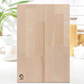{{photo.Alt || photo.Description || 'Доска разделочная Доляна «Классика», 42×28 см, толщина 1,8 см, массив берёзы'}}