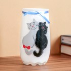 """Vase """"Cat soft"""" d-6*7*12.5 cm"""