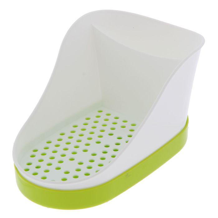 Подставка для моющих средств, цвет зеленый