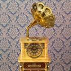 """Часы будильник """"Меломан"""" с светильником, 43х16х15 см"""