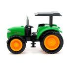 Трактор радиоуправляемый «Фермер», работает от аккумулятора, световые эффекты, цвета МИКС - фото 105647901