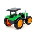 Трактор радиоуправляемый «Фермер», работает от аккумулятора, световые эффекты, цвета МИКС - фото 105647902