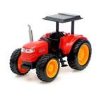 Трактор радиоуправляемый «Фермер», работает от аккумулятора, световые эффекты, цвета МИКС - фото 105647903