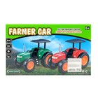 Трактор радиоуправляемый «Фермер», работает от аккумулятора, световые эффекты, цвета МИКС - фото 105647905