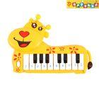 Пианино «Жирафик», звуковые эффекты