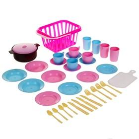 Детский кухонный набор 'Пикник', 35 предметов, МИКС