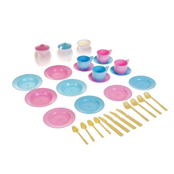Детский кухонный набор «Чайный», 33 предмета - фото 105580765