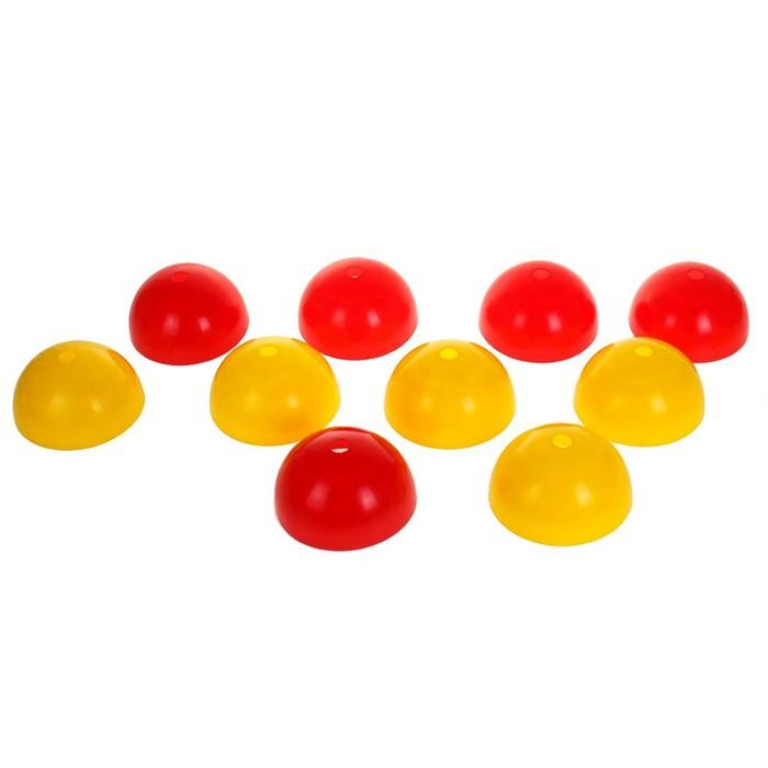 Разметчик для спортивных игр: 10 фишек, 1 палка