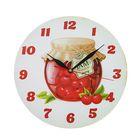 """Часы """"Варенье из вишни"""" фигурные, Ø 25 см"""