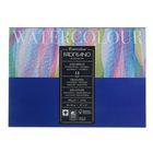 Альбом для акварели хлопок + целлюлоза, В4, 260 х 360 мм, Fabriano Watercolour, 12 листов, 300 г/м2 , склейка, торшон