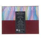 Альбом для акварели B5, 180х240 мм, хлопок + целлюлоза, 20 листов на склейке Fabriano, 200 г/м²