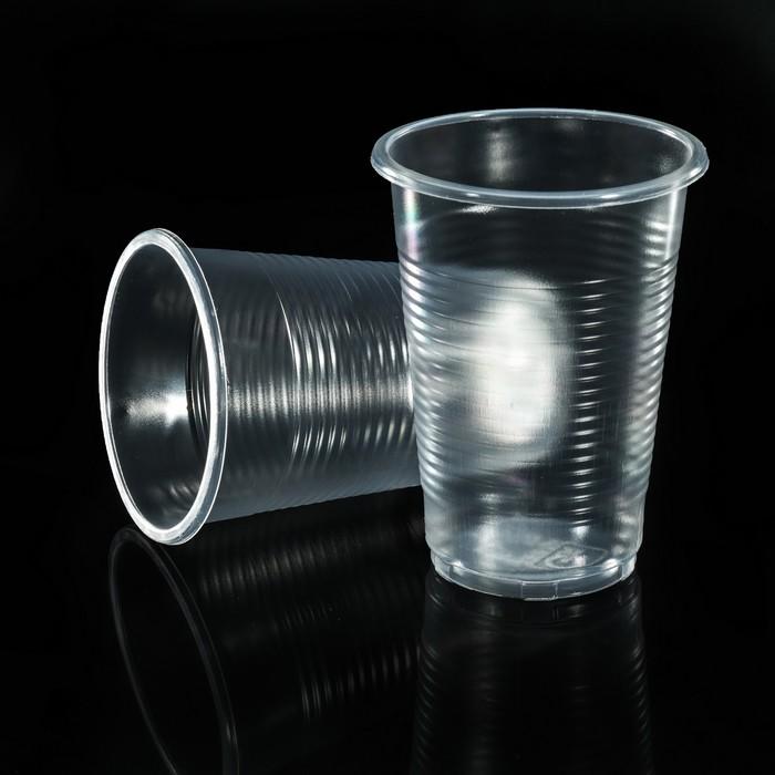 Набор стаканов одноразовых 200 мл Grifon, 12 шт в п/п упаковке