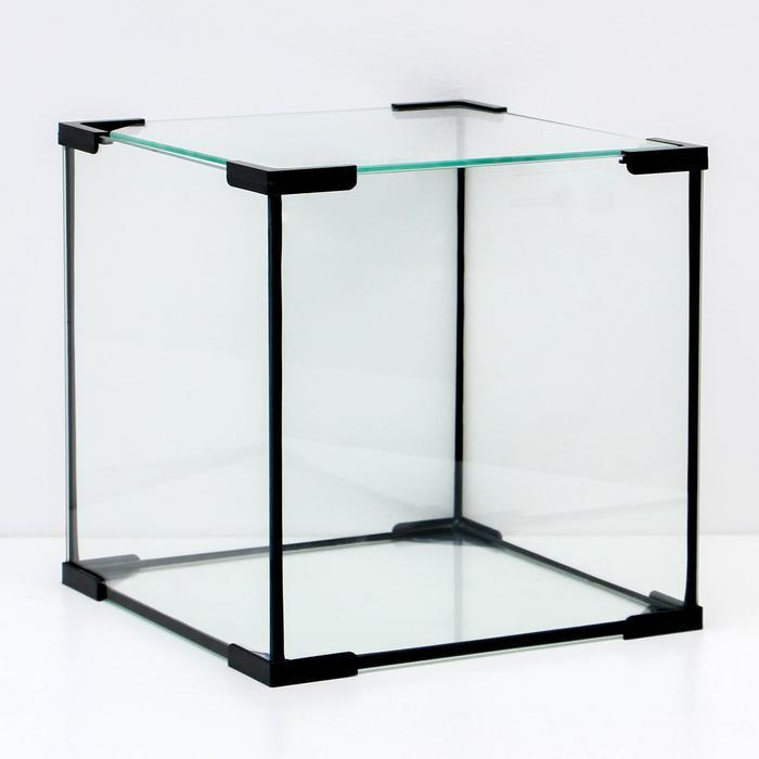 Аквариум куб, 27 литров, 30 х 30 х 30 см
