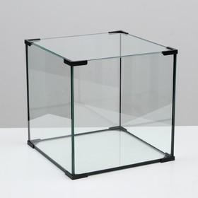 Аквариум куб, 64 литра, 40 х 40 х 40 см
