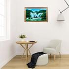 """Световая картина """"Горный водопад"""" 117*75 см - фото 939990"""