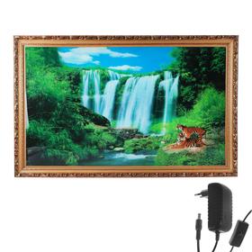 """Световая картина """"Восхитительный водопад"""" со звуком пения птиц и водопада"""
