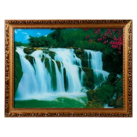 """Световая картина """"Живая природа"""" со звуком пения птиц и водопада"""
