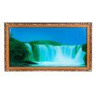 """Световая картина """"Природная красота"""" со звуком пения птиц и водопада"""