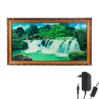 """Световая картина """"Прекрасный водопад"""" со звуком пения птиц и водопада"""