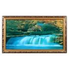 """Световая картина """"Природная мощь"""" со звуком пения птиц и водопада"""