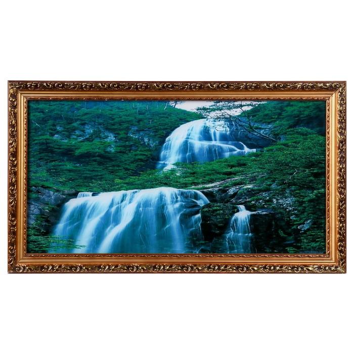 """Световая картина """"Перекаты"""" со звуком пения птиц и водопада"""