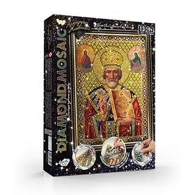 Набор креативного творчества Diamond Mosaic «Николай Чудотворец» малый