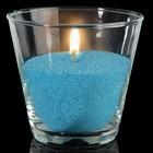 Свечной песок голубой 0,1кг
