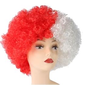 Карнавальный парик «Объём», двухцветный, 120 г