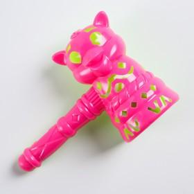 Погремушка «Молоточек-зверушка», цвета МИКС