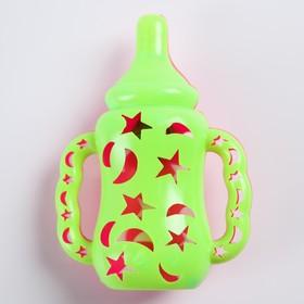 Погремушка «Детская бутылочка», цвета МИКС Ош