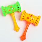 Погремушка «Молоточек», цвета МИКС