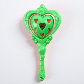 Погремушка «Сердечко», цвета МИКС