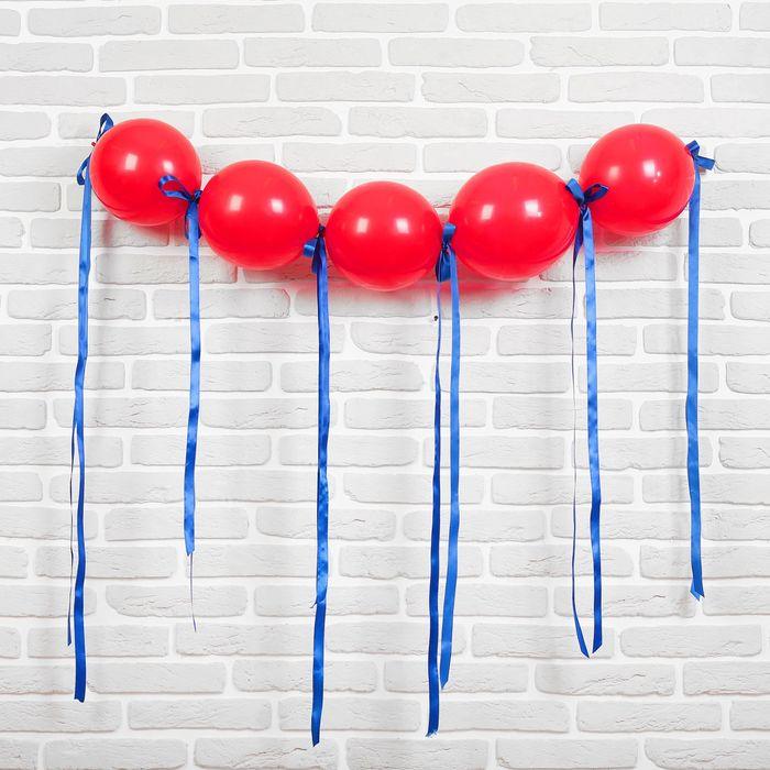 """Гирлянда из воздушных шаров """"Пират"""", набор: 5 линколунов, лента, декор - фото 308468994"""