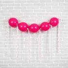 """Гирлянда из воздушных шаров """"Принцесса"""", набор: 5 линколунов, лента, декор"""