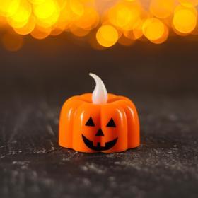 """Candle light """"Pumpkin"""", types MIX"""