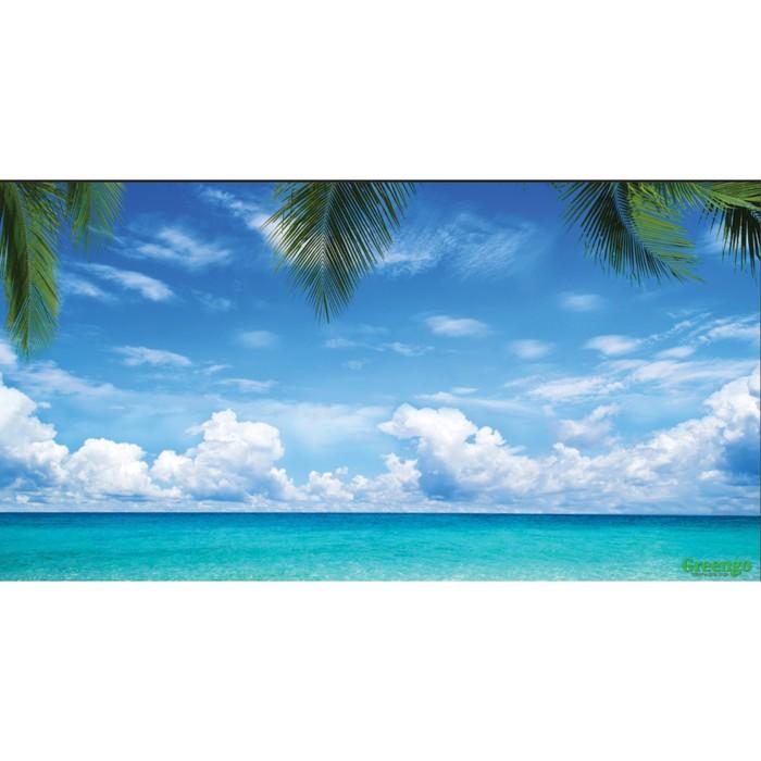 Фотобаннер, 300 × 158 см, с фотопечатью, «Море»