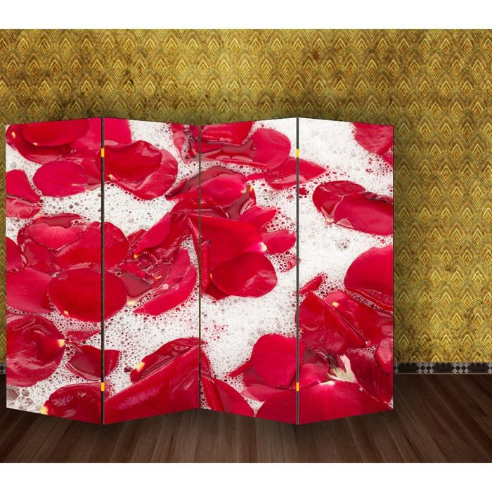 "Ширма ""Лепестки"", 200 × 160 см"
